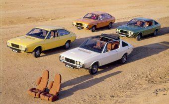 Renault 15 et 17 : coupés décalés