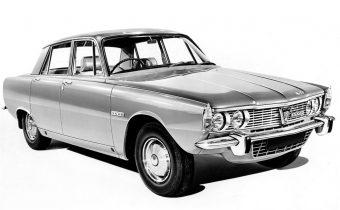 Rover P6 : révolution à l'anglaise
