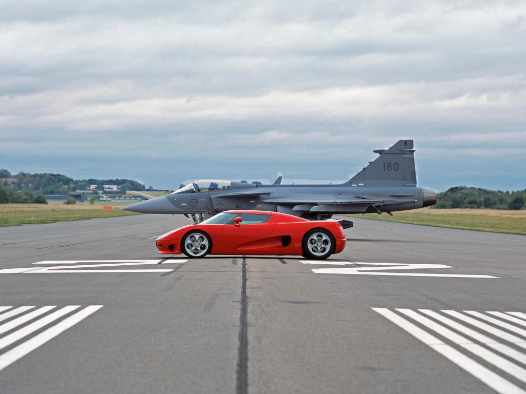Koenigsegg CCX : la tentation du 12 cylindres à plat italien