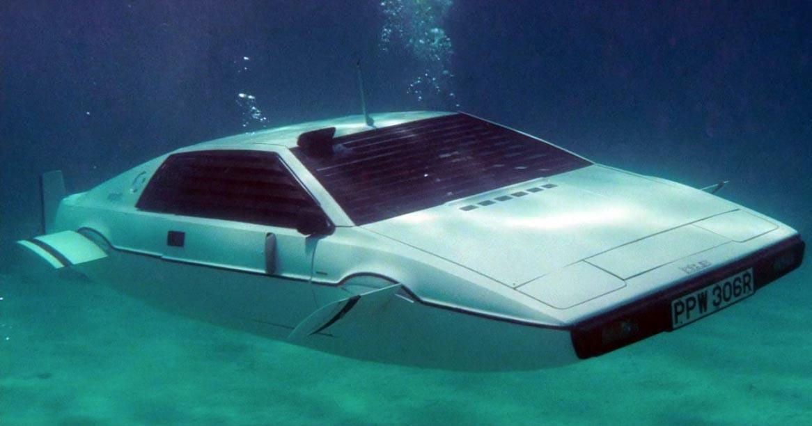 """Résultat de recherche d'images pour """"LOTUS ESPRIT SA SUBMARINE CAR"""""""