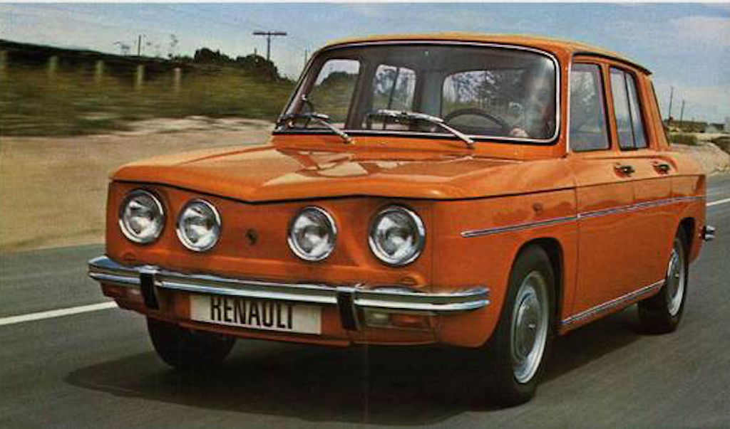 Fasa Renault 8 Ts La Gordini A L Aspartame