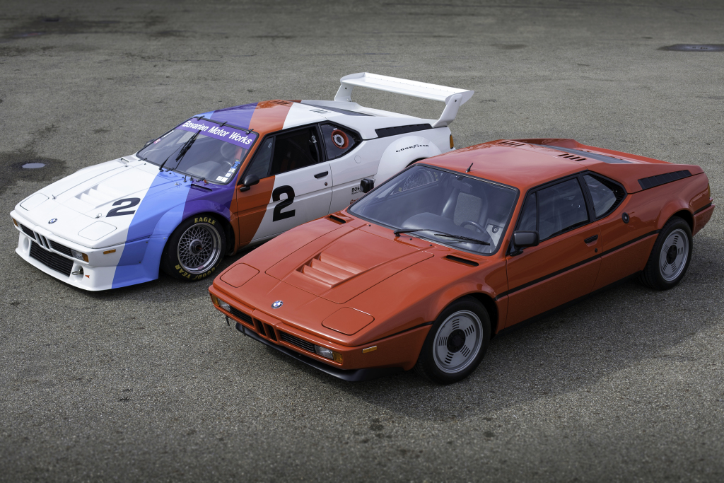 BMW M1 (E26) : la M – unique