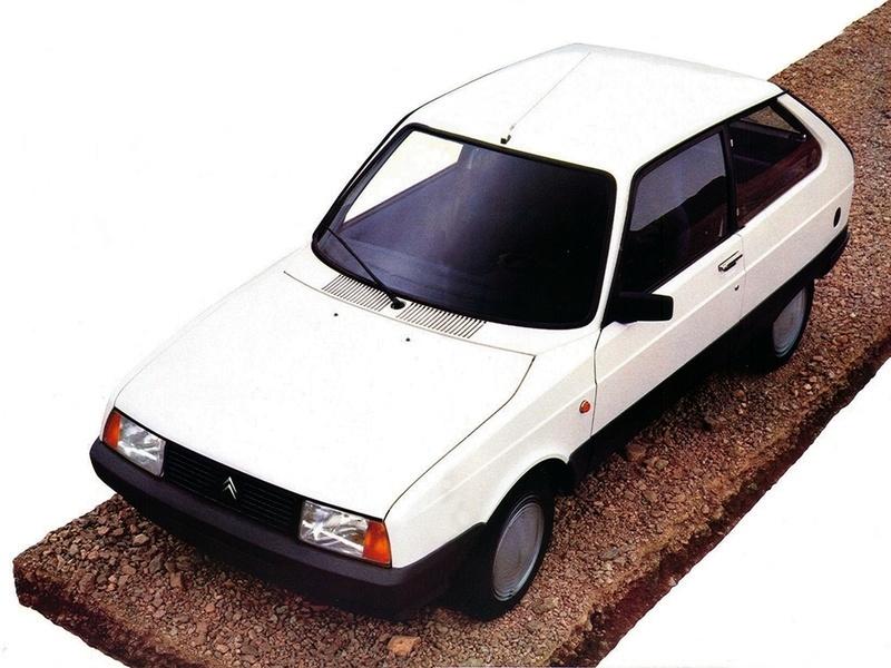 Citroën Axel : la servante écarlate
